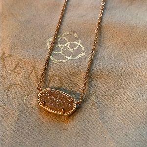 Kendra a Scott Elisa drusy necklace